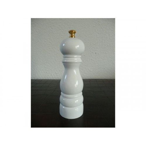 Lidrewa Saltkvarn 18 cm, vit högglans