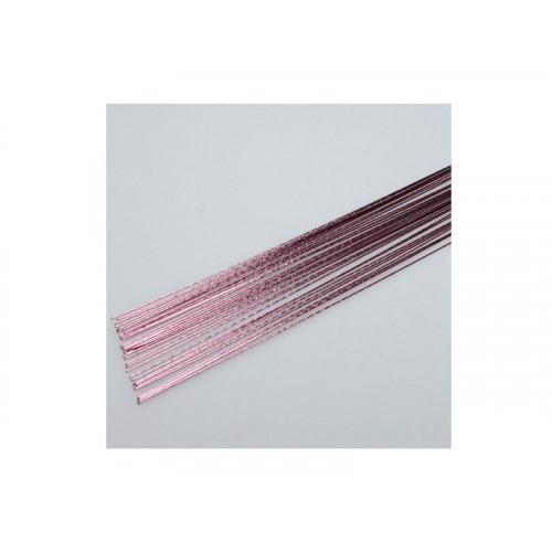 Gum Paste Wire, metalltråd, metallicrosa - Culpitt