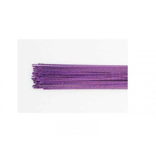 Gum Paste Wire, metalltråd, metalliclila - Culpitt