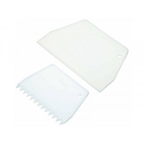Kitchen Craft Icing Scraper, set