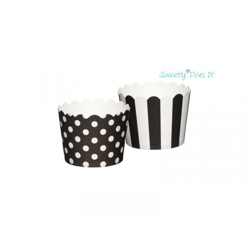 Kitchen Craft Minimuffinsform Polkadot/stripe
