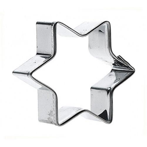 Pepparkaksstjärna - 11 cm
