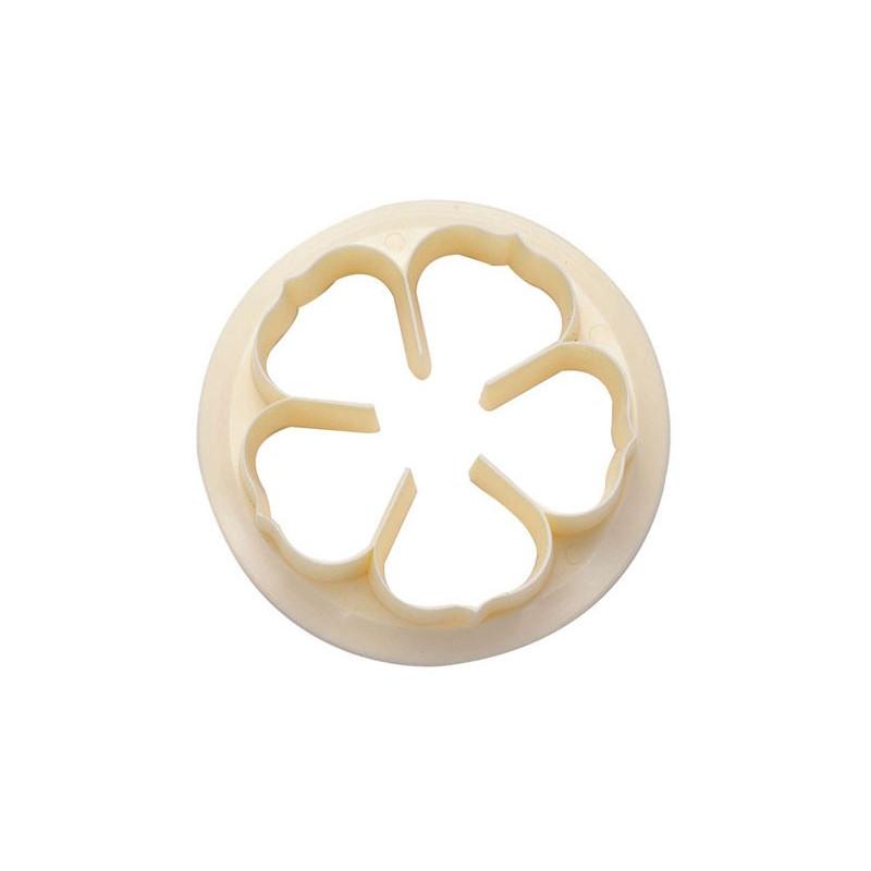 Utstickare Five petal rose - FMM