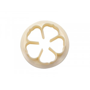 FMM Utstickare, Five petal rose, 9 cm