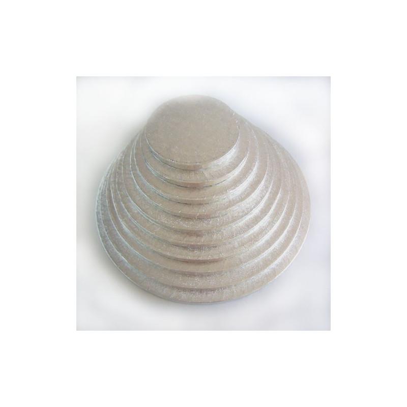Tårtbricka silver, 20 cm - FunCakes