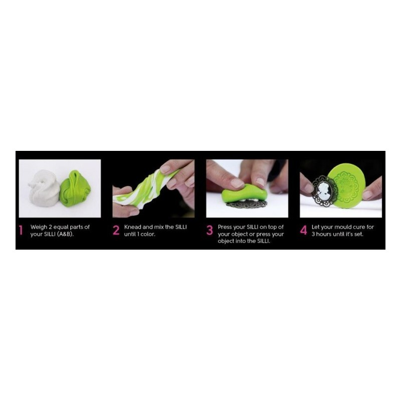 Köp SilliCreations Gör din egen silikonform, 300 g, omgående leverans Lyckasmedmat se