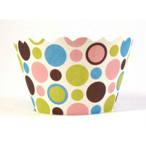 Swift Cupcake Wraps, Polkadot