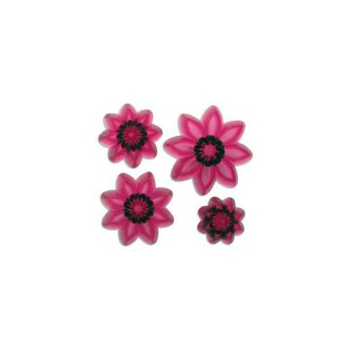 JEM Utstickare, Pointed eight petal daisy set