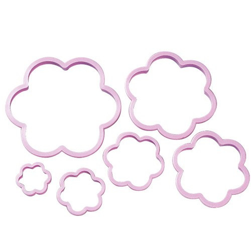 Wilton Utstickare, Flower Cookie Cutter Set