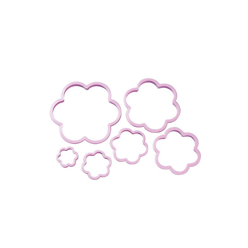 Utstickare Flower Cookie Cutter Set - Wilton