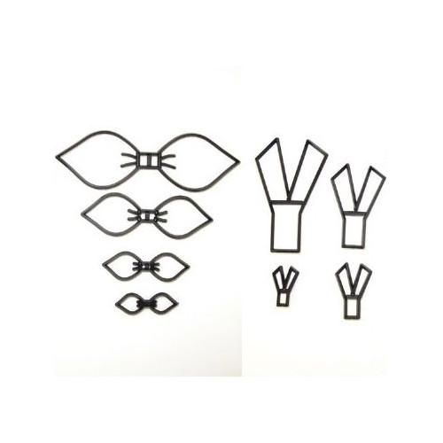 Patchwork Cutters Utstickare/Embosser, Make a bow set