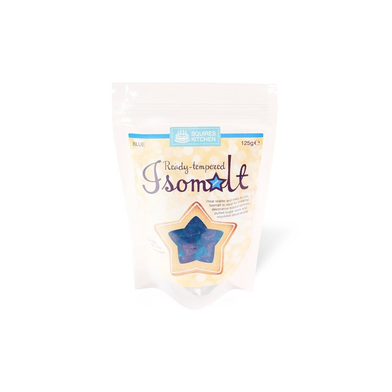 Isomalt tempererad, Blue - Squires Kitchen