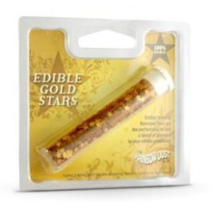 Rainbow Dust Guldstjärnor, ätbara