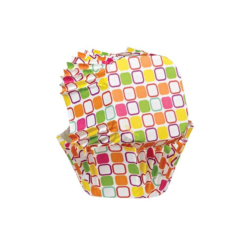 Muffinsform fyrkantig, Warm Squares - Wilton