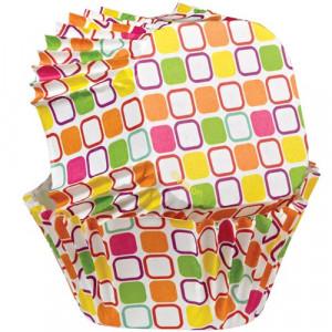 Wilton Muffinsform fyrkantig, Warm Squares