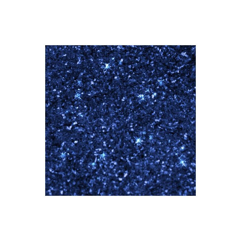 Ätbart glitter, safirblå - Rainbow Dust