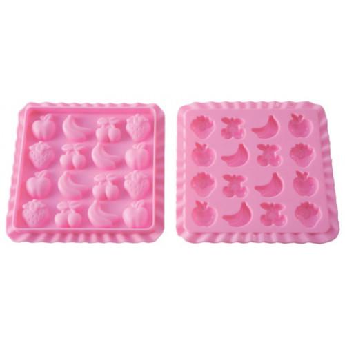 Silikomart Godisform Tutti-frutti, silikon