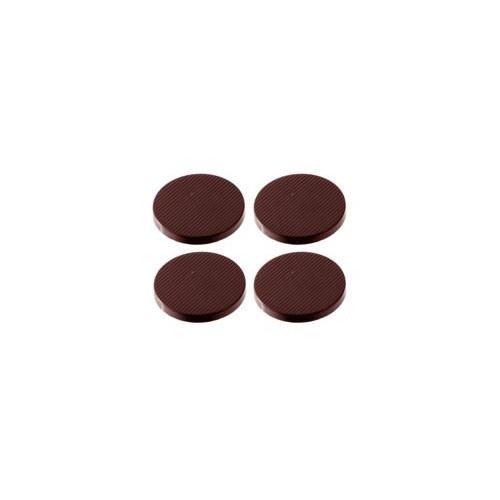 Chocolate World Pralinform Rund randig