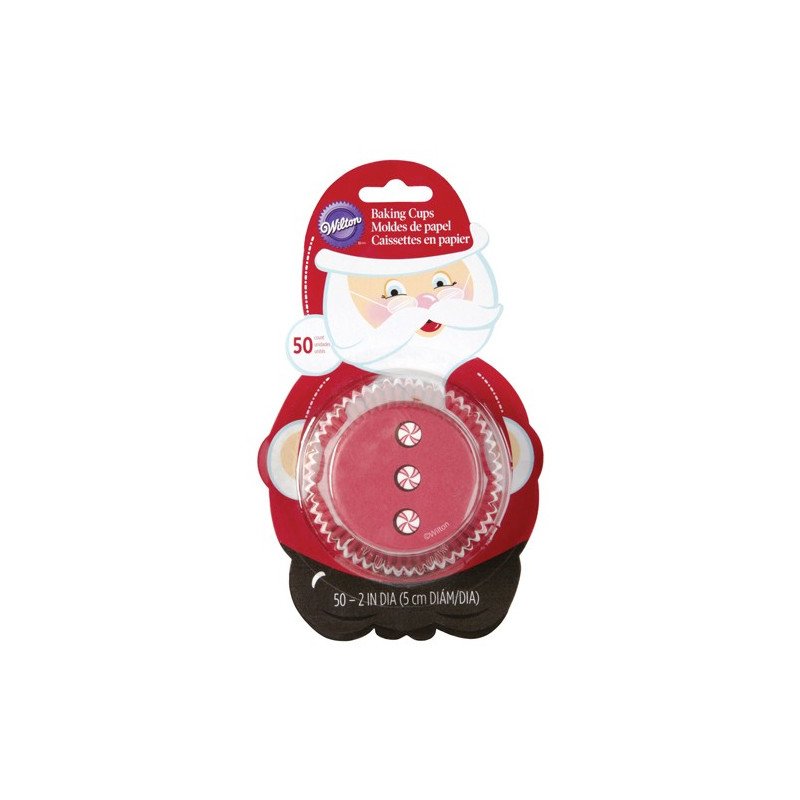 Wilton Muffinsform Santa