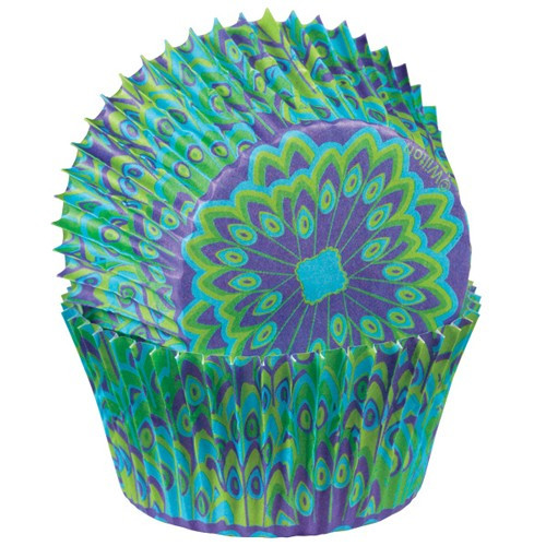 Wilton Muffinsform Peacock