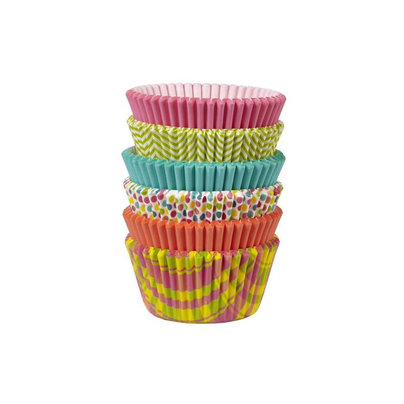 Wilton Muffinsform Mix 150 st, Spring