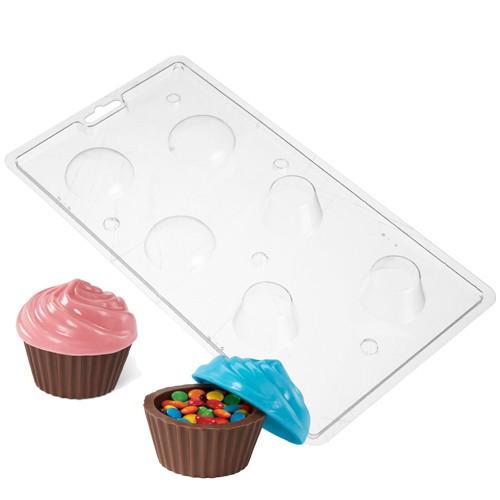 Wilton Cupcakes Candy Mold, chokladform