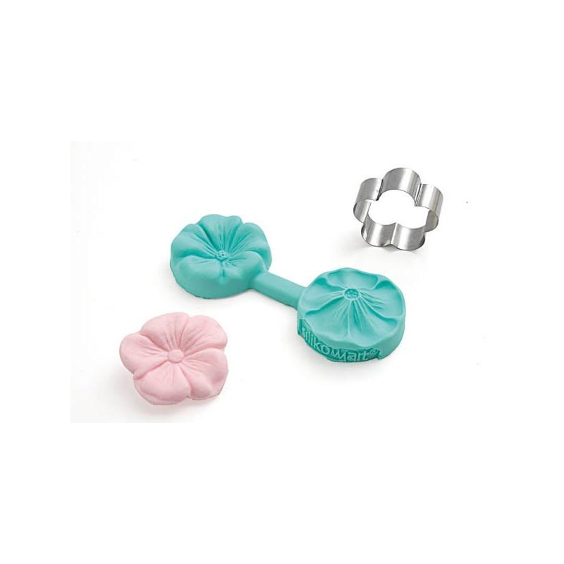 Silikomart Utstickare och silikonform, mini flower 801