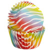 Wilton Minimuffinsform Zebra Brights