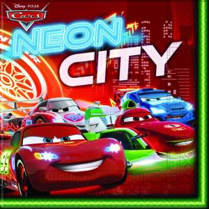 Disney Servetter, Cars, Neon City