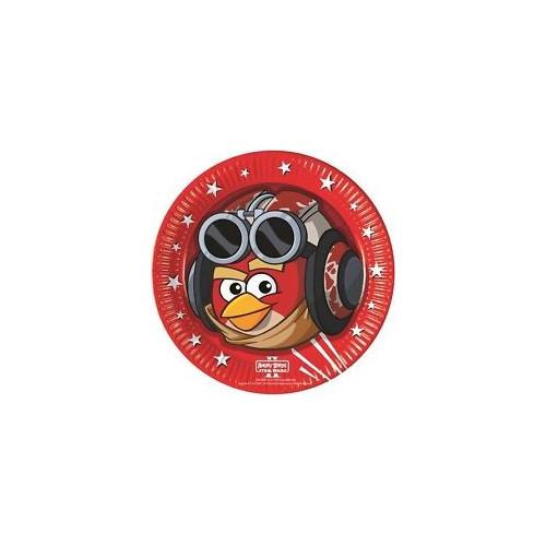 Papperstallrikar Angry Birds, Star Wars