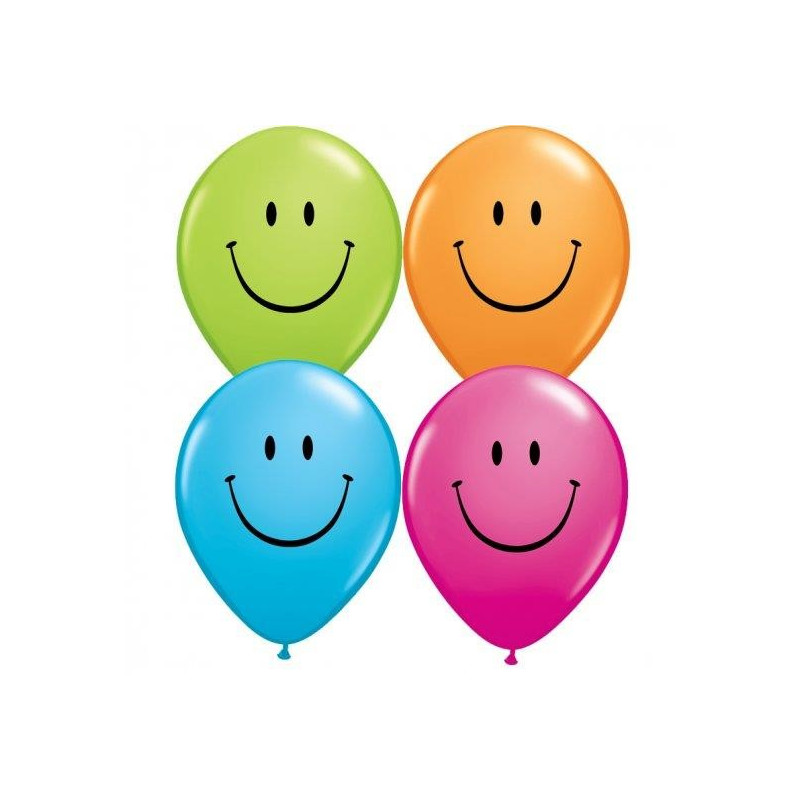 Qualatex Ballonger, Smiley face