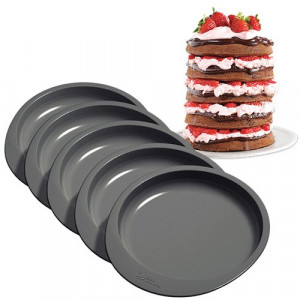 Wilton Bakform Easy Layers, 5 st, 15 cm