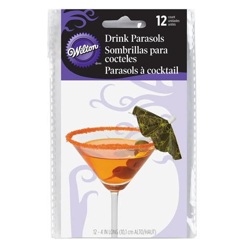 Wilton Drinkparaplyer Halloween