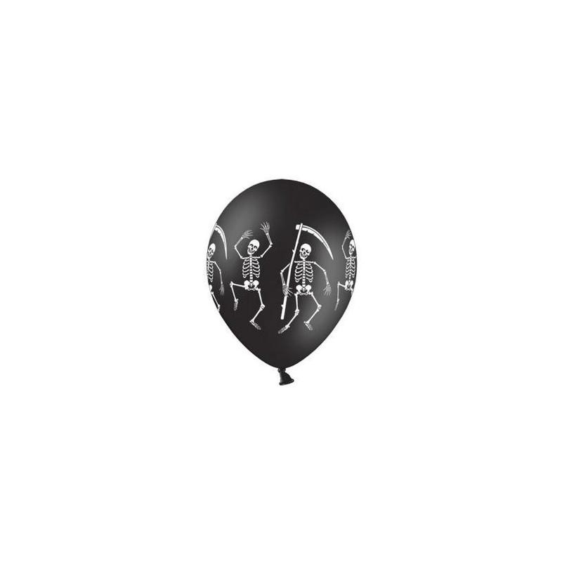 Ballonger svarta, skelett