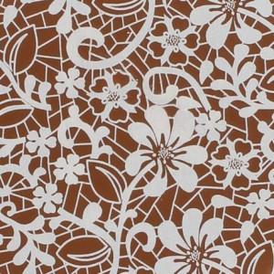 Squires Kitchen Överföringsark till choklad, Vit spets blommor