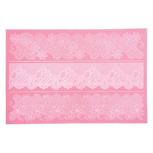 Kitchen Craft Sugar Lace silikonmatta 04