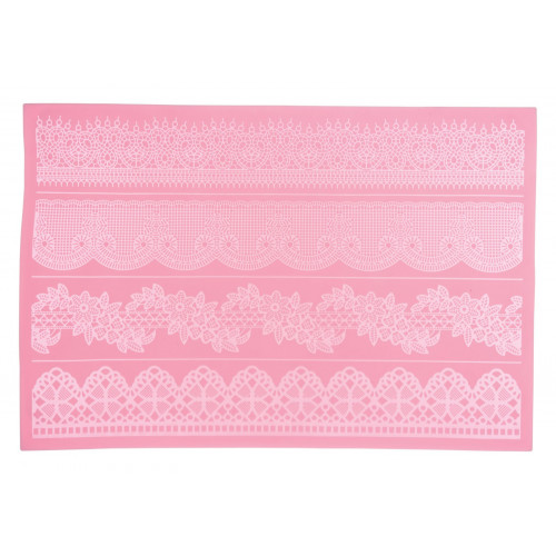 Kitchen Craft Sugar Lace silikonmatta 05