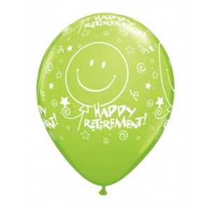 Qualatex Ballonger Happy Retirement