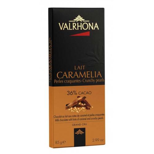 Valrhona Choklad Caramelia Lait 36%, 85 g