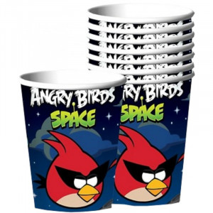 Pappersmuggar Angry Birds Space