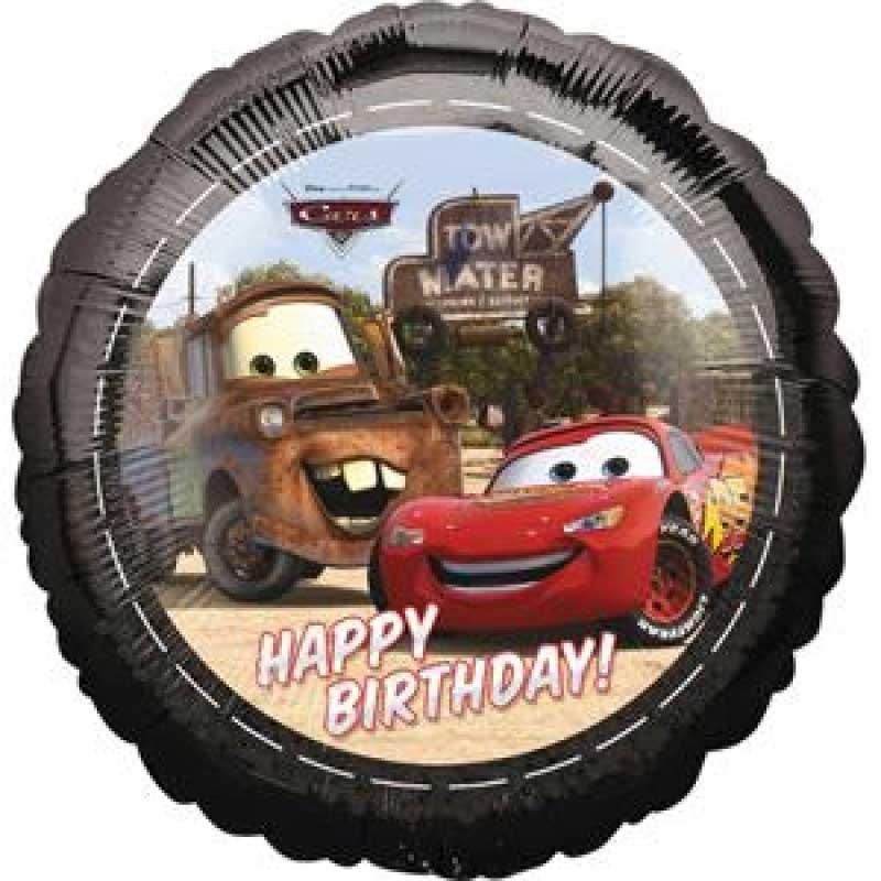 Ballong Cars Happy Birthday