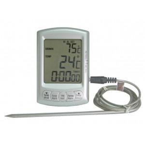 Digital stektermometer med timer