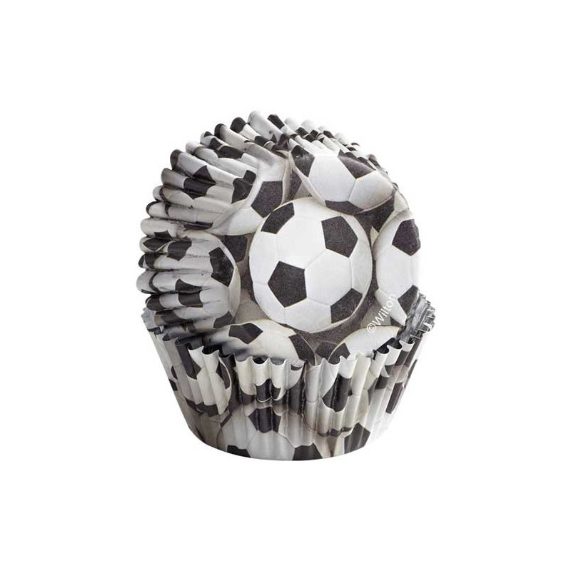 Wilton Muffinsform Color Cups, Fotboll