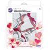 Wilton Utstickare Valentine, 7 delar