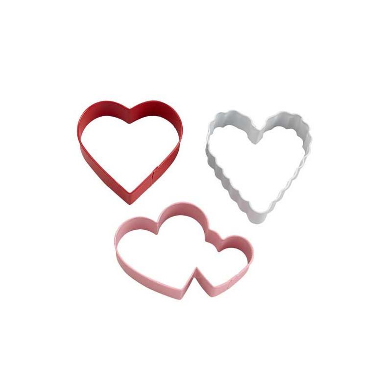 Wilton Utstickare, Hjärtan på ring