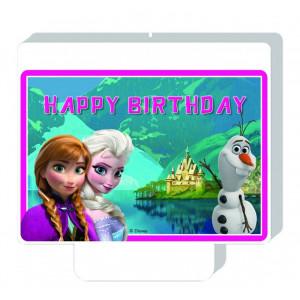Disney Tårtljus Frozen