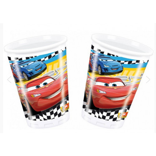 Disney Plastmuggar Cars, racing