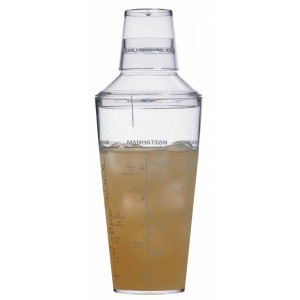 Bar Craft Cocktail shaker, akryl