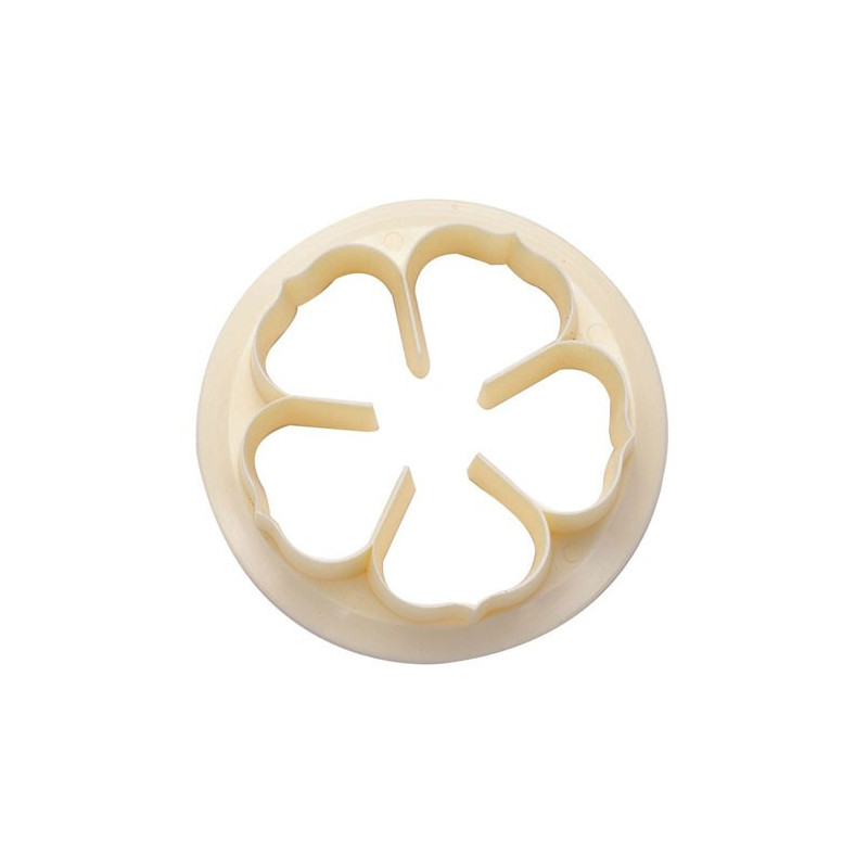 FMM Utstickare, Five petal rose, 6,5 cm