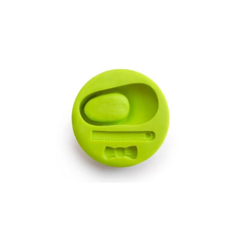 Ibili Silikonform Sko 3D